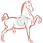 Hackney Horse 2 - Clip Art and Background Set