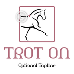 Dressage Horse Logo 11 - Trot On