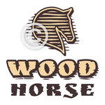 Horse Head Logo - Wood Horse