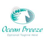 Horse Head Logo - Ocean Breeze