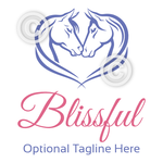 Horse Head Logo - Blissful