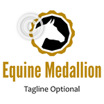 Horse Head Logo - Equine Medallion